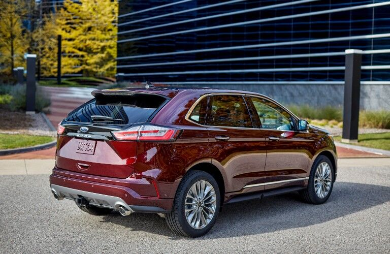 2021 Ford Edge from exterior rear