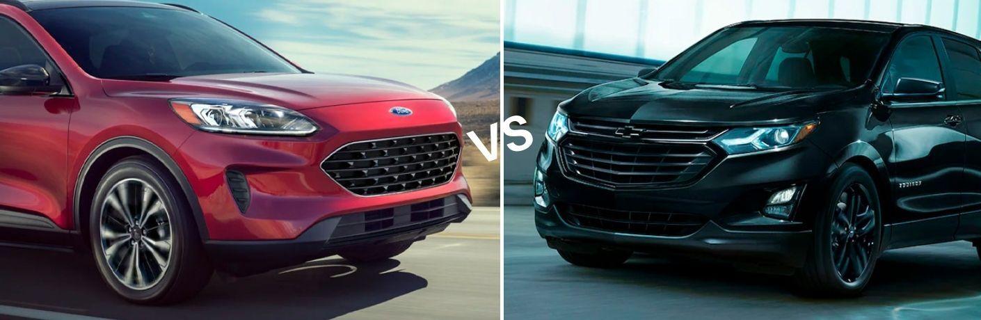 2021 Ford Escape VS 2021 Chevrolet Equinox