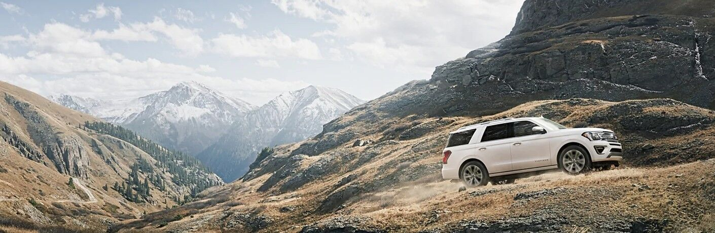 2021 Ford Expedition in mountains