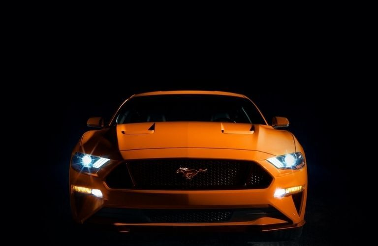 2021 Ford Mustang front exterior