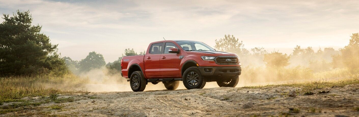 2021 Ford Ranger from exterior front