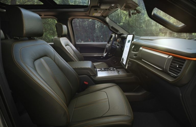 2022 Ford Expedition front seats