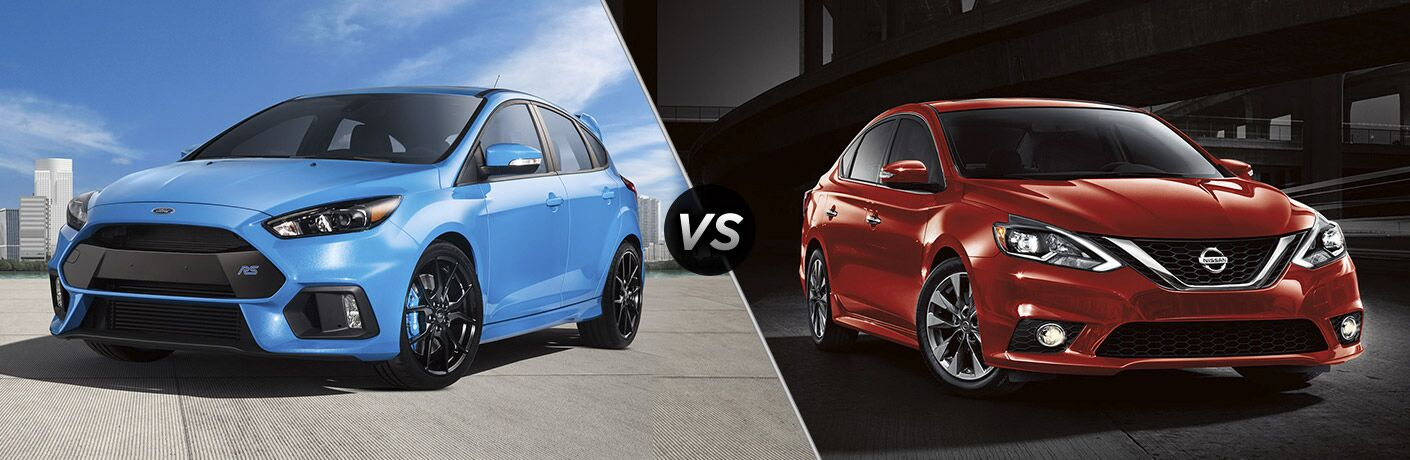 2017 Ford Focus vs. 2017 Nissan Sentra