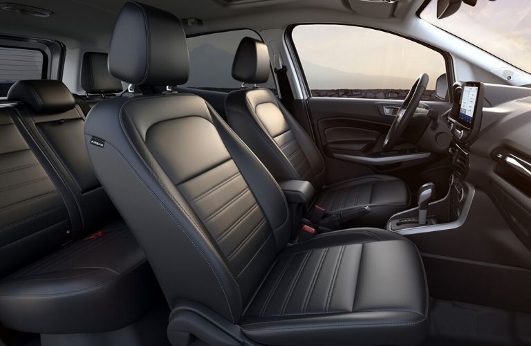 Interior of 2020 Ford EcoSport