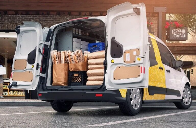 2021 Ford Transit Connect from rear