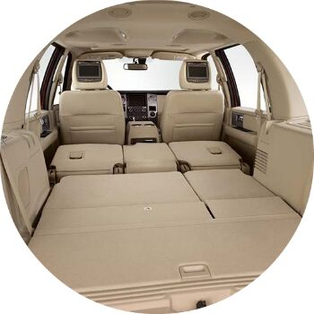 ford expedition cargo room