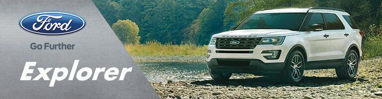 The 2016 Ford Explorer is available at Houston Ford.