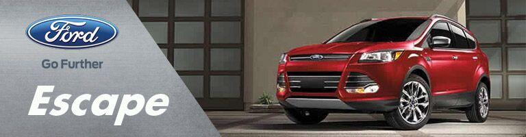 Red 2016 Ford Escape