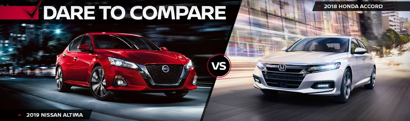 2019 Nissan Altima vs Honda Accord