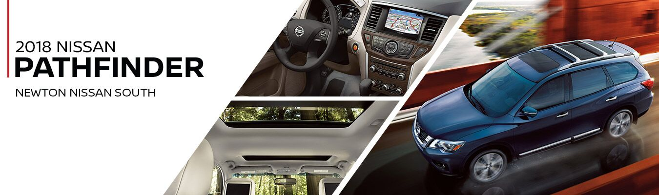 2018 Nissan Pathfinder at Newton Nissan South