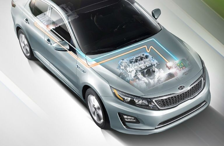 Kia Optima Hybrid vs Ford Fusion Hybrid St. Petersburg FL