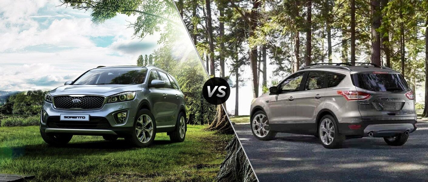 2016 Kia Sorento vs 2016 Ford Escape towing capacity horsepower safety