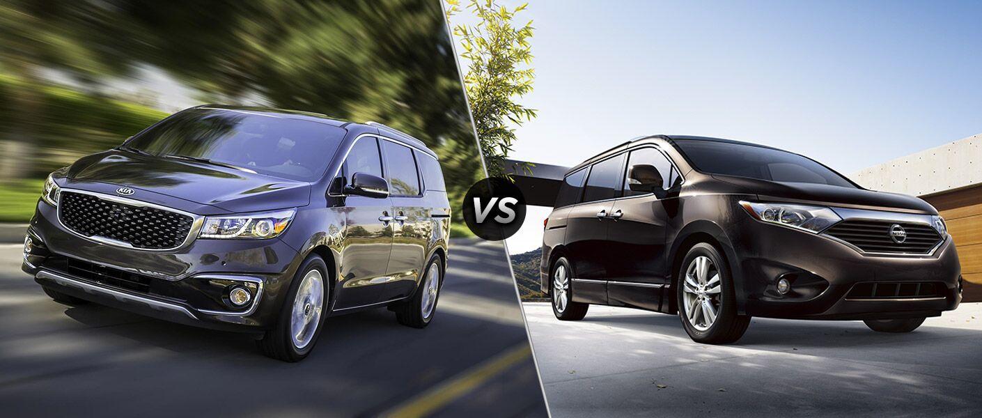 2016 Kia Sedona vs. 2016 Nissan Quest minivans New Port Richey FL