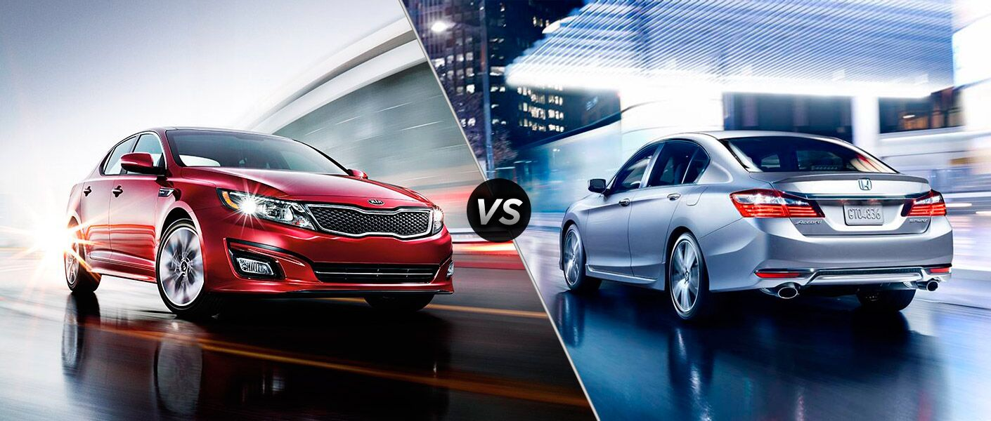 2016 kia optima vs 2016 honda accord. Black Bedroom Furniture Sets. Home Design Ideas