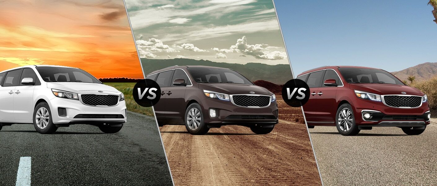 2016 Kia Sedona trim level comparison L vs. EX vs. SXL Clearwater FL