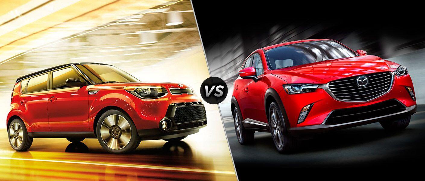 2016 Kia Soul vs. 2016 Mazda CX-3 crossovers Friendly Kia Tampa Clearwater FL