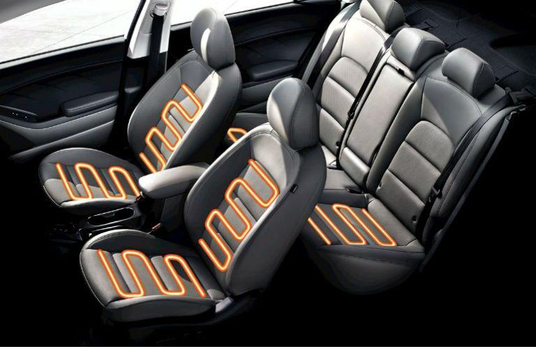 2016 Kia Forte heated seats interior Friendly Kia St. Petersburg FL