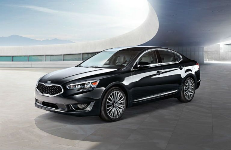 2016 Kia Cadenza exterior classic yet fun design Friendly Kia New Port Richey FL