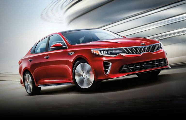 2016 Kia Optima sedan Friendly Kia serving St. Petersburg FL