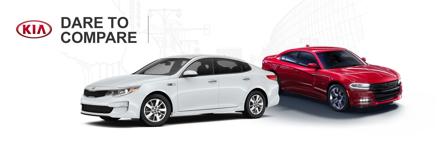 2016 Kia Optima vs 2016 Dodge Charger New Port Richey FL