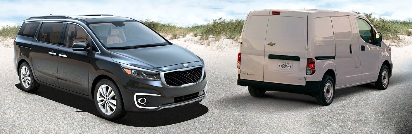 2016 Kia Sedona vs 2016 Chevy City Express
