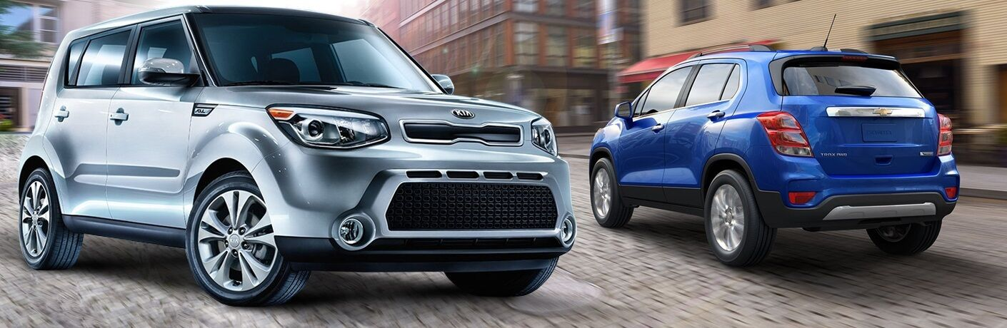 2016 Kia Soul vs 2016 Chevy Trax Friendly Kia Clearwater FL