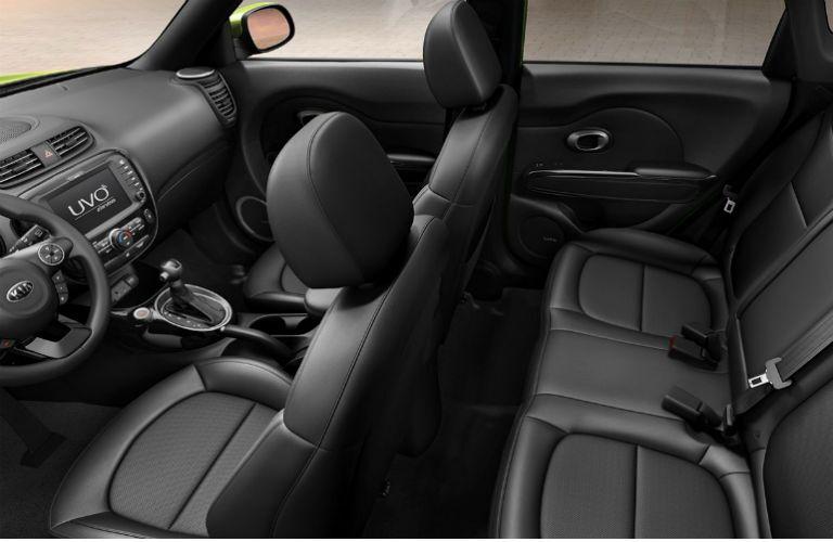 2016 Kia Soul interior 101 cubic feet passenger room UVO eServices Tampa FL