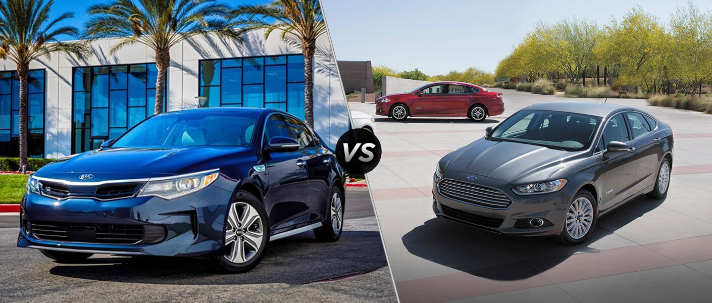 2016 Kia Optima Hybrid vs. 2016 Ford Fusion Hybrid