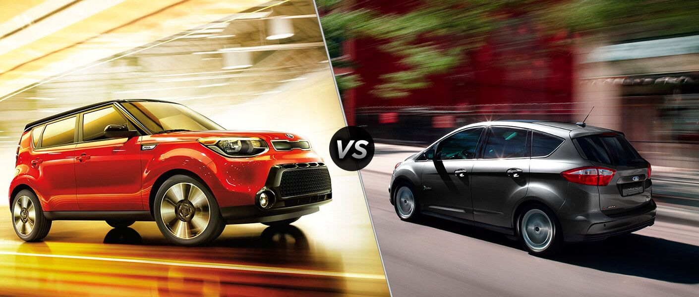 2016 Kia Soul vs. 2016 Ford C-Max hatchbacks