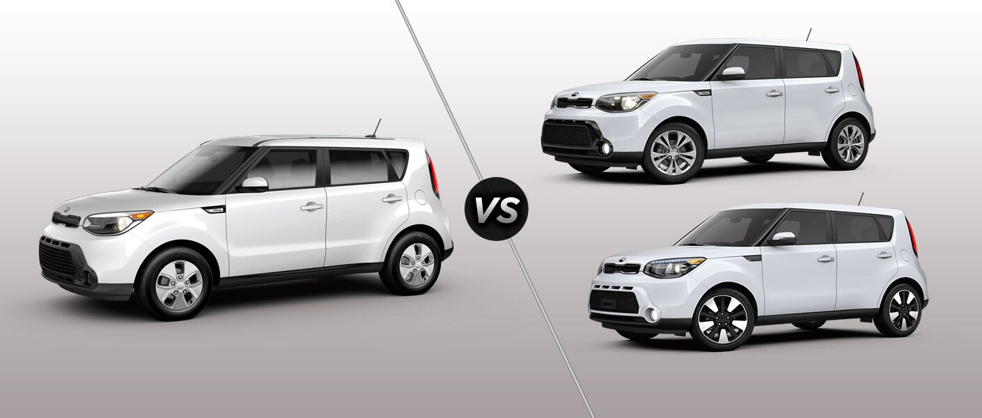 2016 Kia Soul Base vs. Plus vs. Exclaim St. Petersburg FL