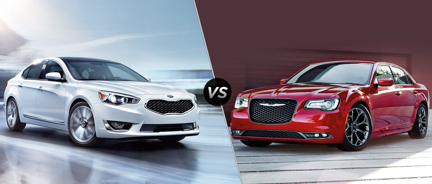 2016 Kia Cadenza Vs 2016 Chrysler 300