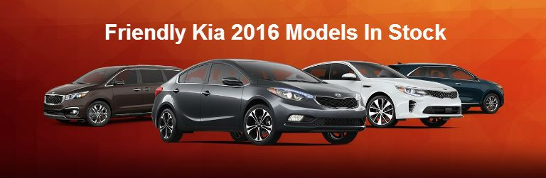 2016 Kia Models Friendly Kia Tampa Clearwater FL