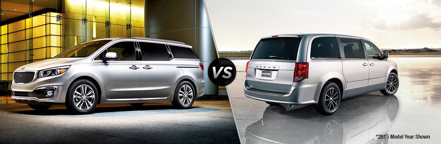 2016 Kia Sedona vs. 2016 Dodge Grand Caravan Clearwater St. Petersburg FL