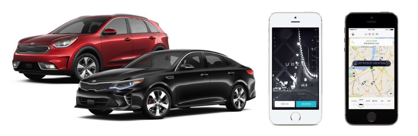 2017 and 2016 Kia models Uber discount Tampa FL
