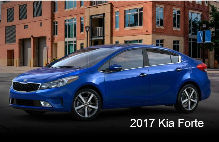 Color options for new Kia models 2017 Forte