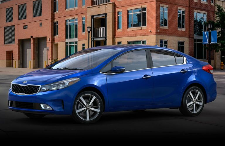 Kia Forte trim level comparisons: LX vs. S vs. EX