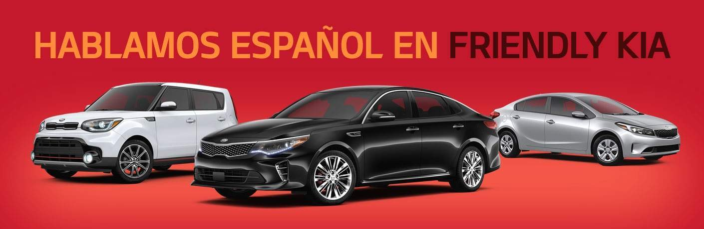 Hablamos Español en Friendly Kia sirviendo Tampa Clearwater y St. Petersburg FL