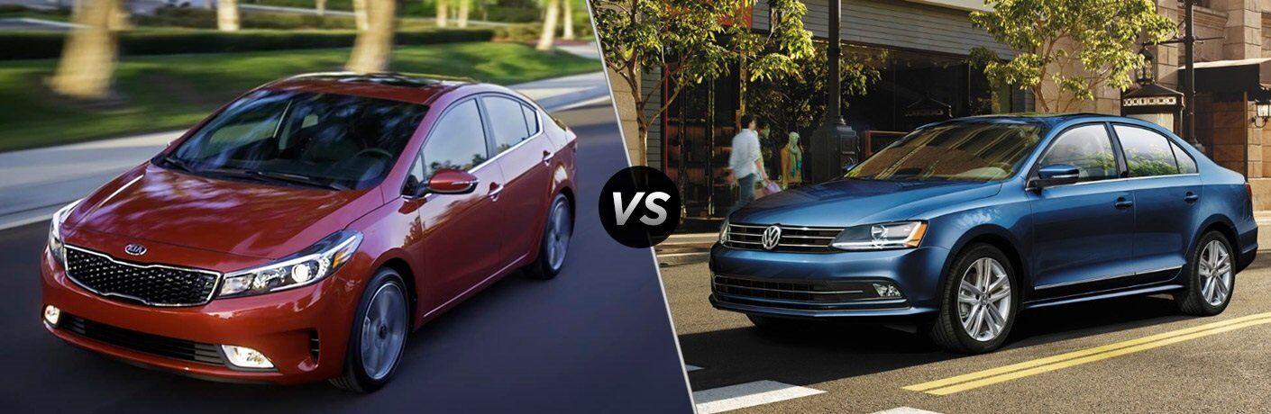 2017 Kia Forte vs. 2017 VW Jetta compact
