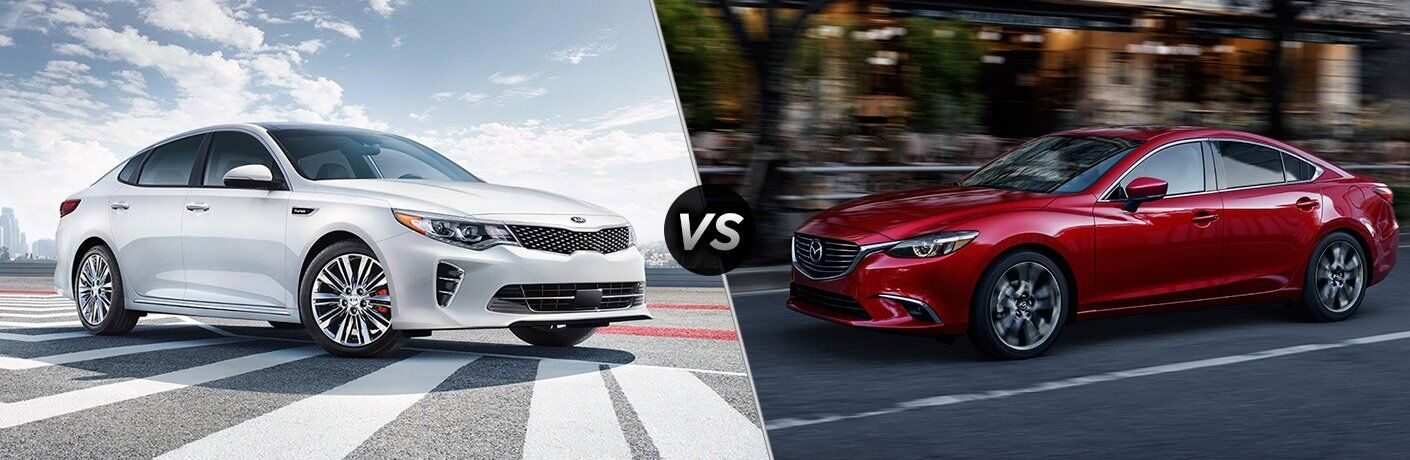 2017 Kia Optima vs. 2017 Mazda6 sedans Tampa FL
