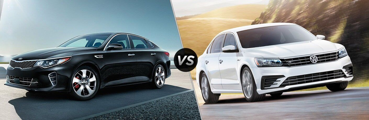 2017 Kia Optima vs. 2017 Volkswagen Passat
