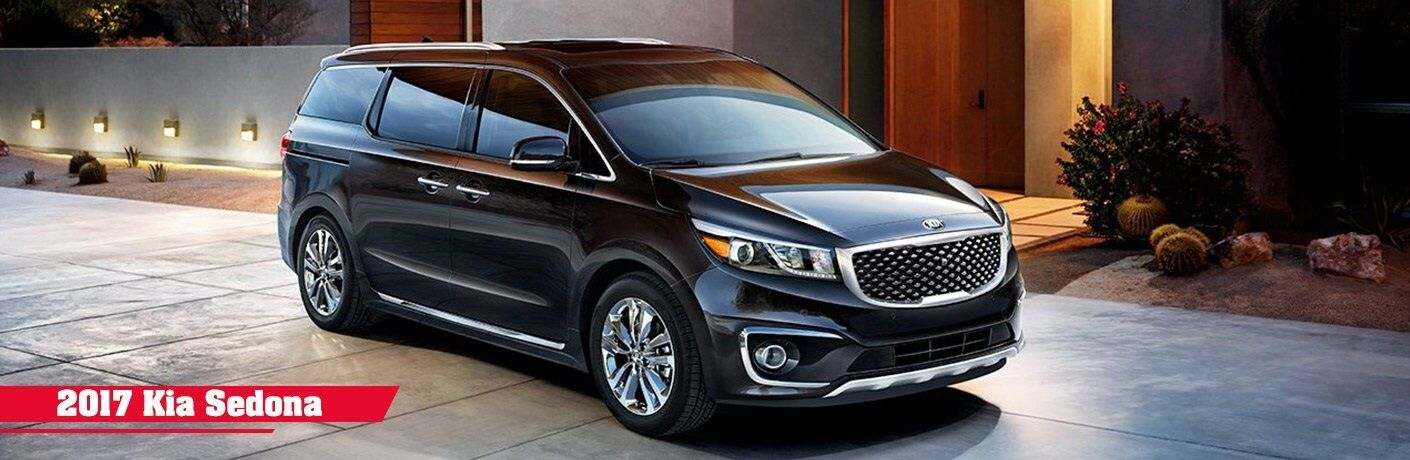 2017 Kia Sedona trim levels