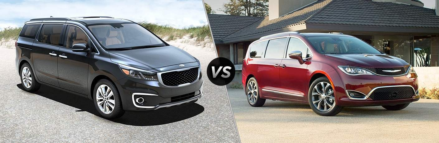 2017 Kia Sedona vs. 2017 Chrysler Pacifica