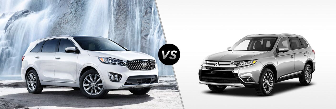 2017 Kia Sorento vs 2017 Mitsubishi Outlander Friendly Kia Clearwater FL