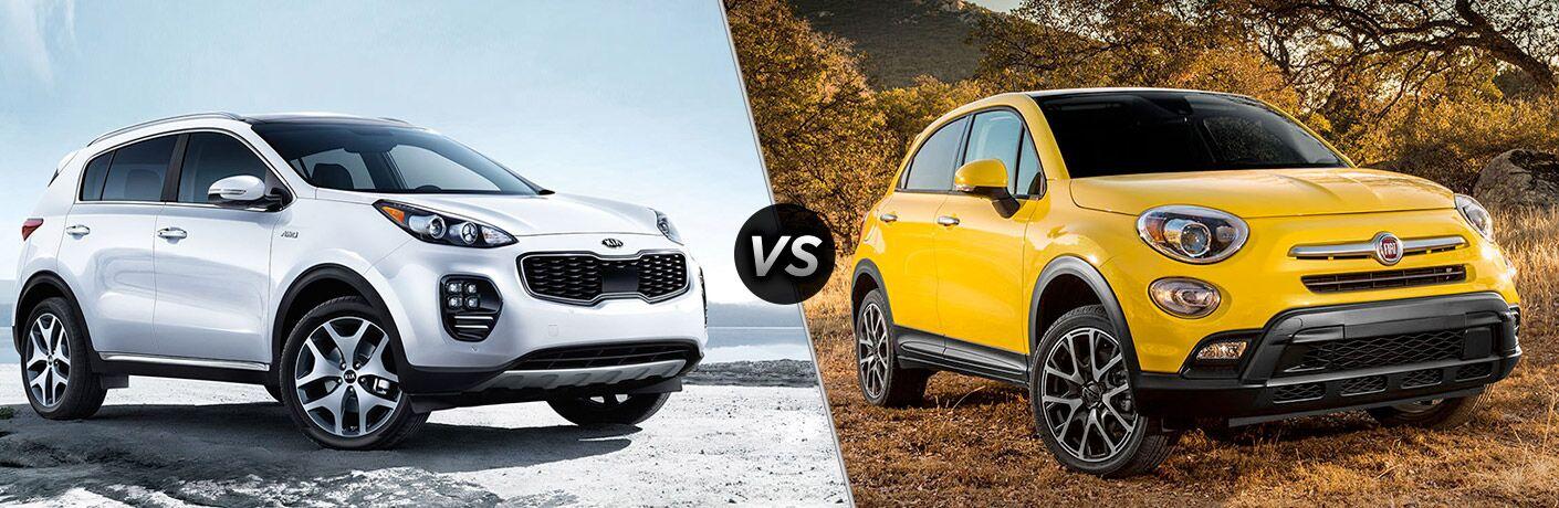 2017 Kia Sportage vs 2017 Fiat 500X