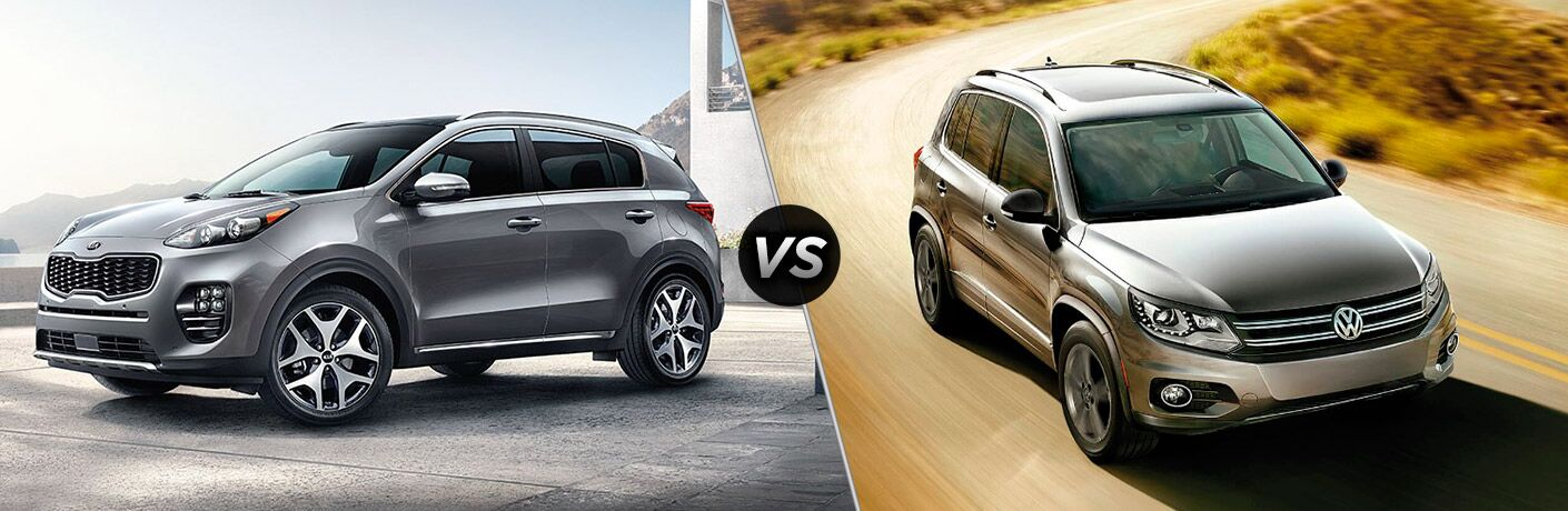 2017 Kia Sportage vs. 2017 VW Tiguan