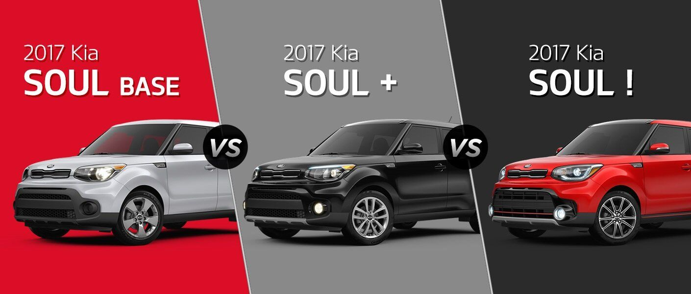 2017 Kia Soul trim levels Base Plus Exclaim Tampa FL