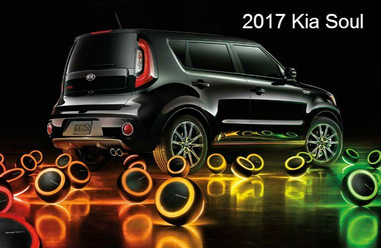 Color options for new Kia models 2017 Soul