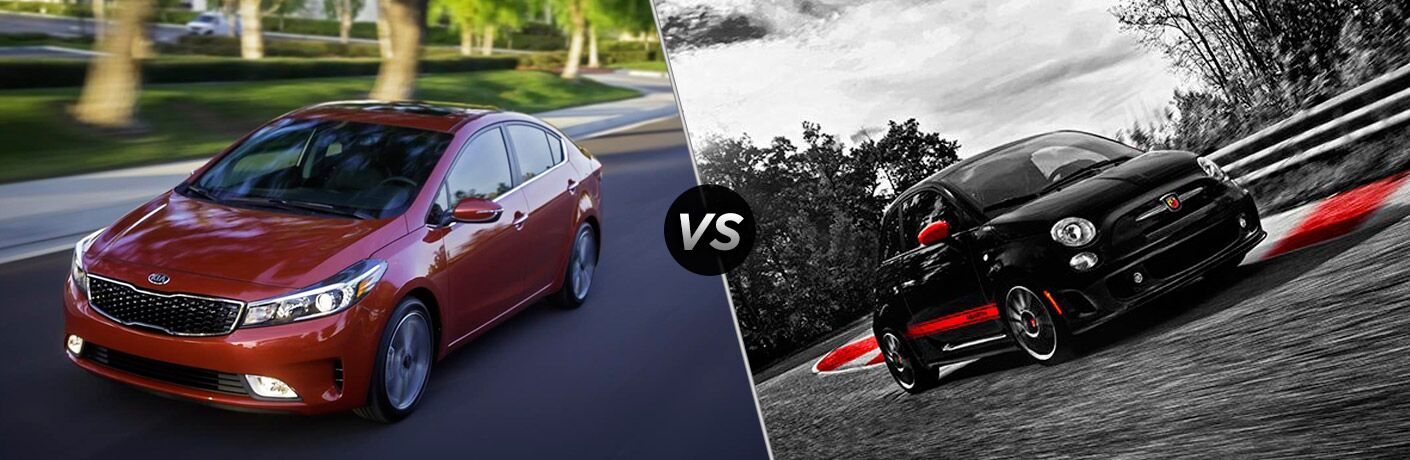 2017 Kia Forte vs 2017 Fiat Abarth Brandon FL