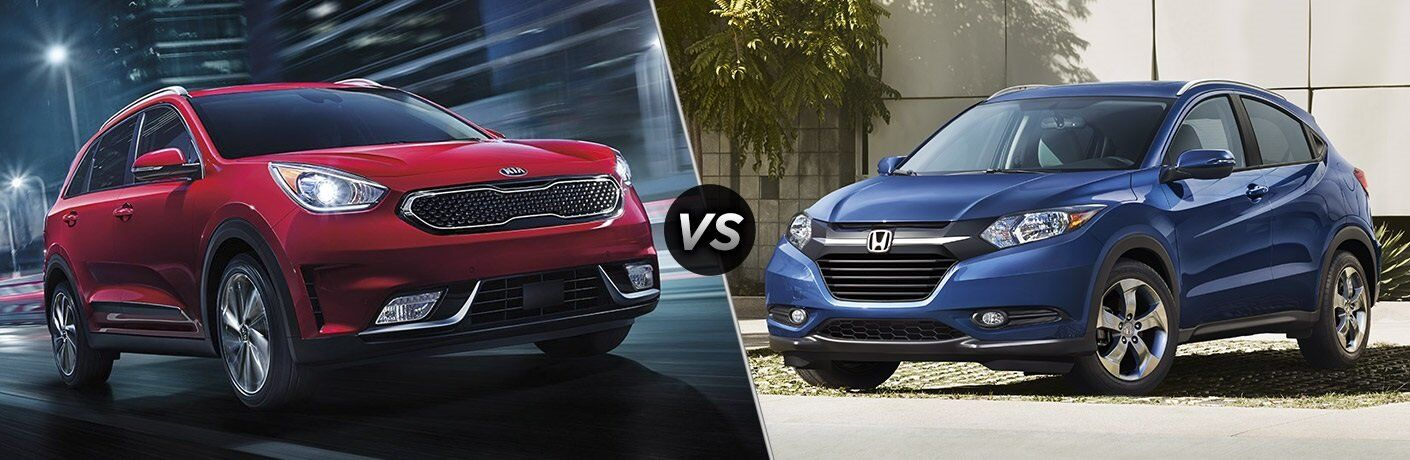 2017 Kia Niro vs. 2017 Honda HR-V New Port Richey FL