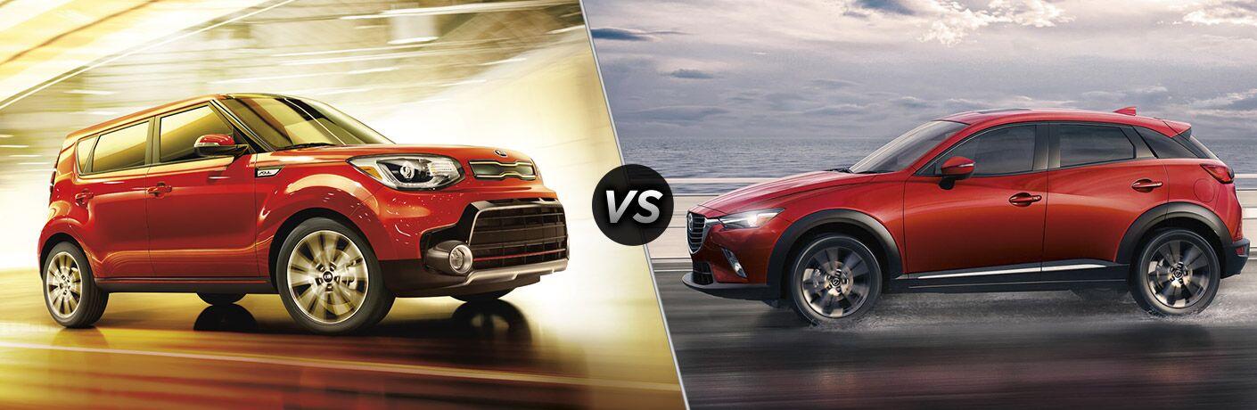 2017 Kia Soul vs. 2017 Mazda CX-3